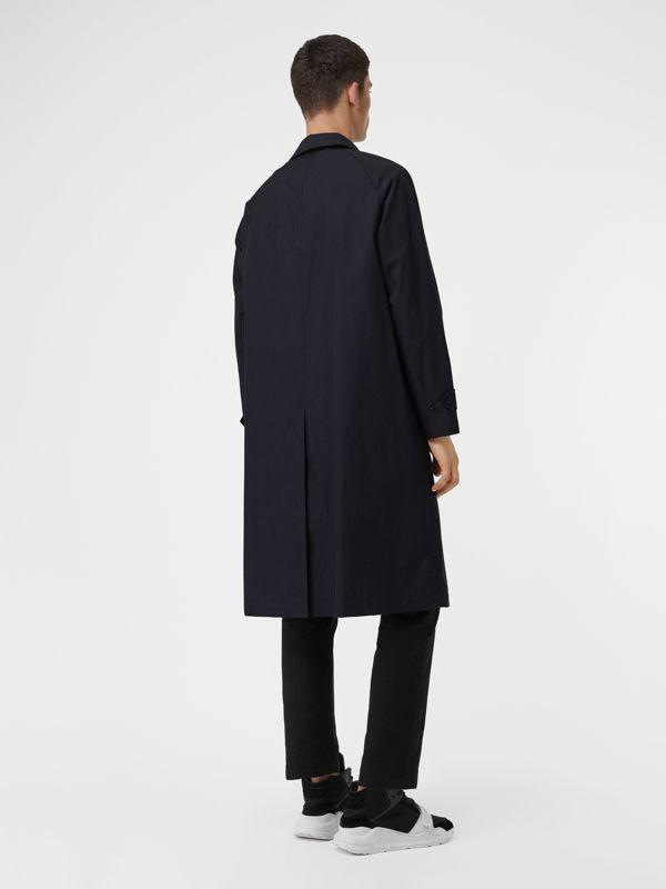 The Brighton Car Coat (Blu Carbonio) - Uomo | Burberry - cell image 2