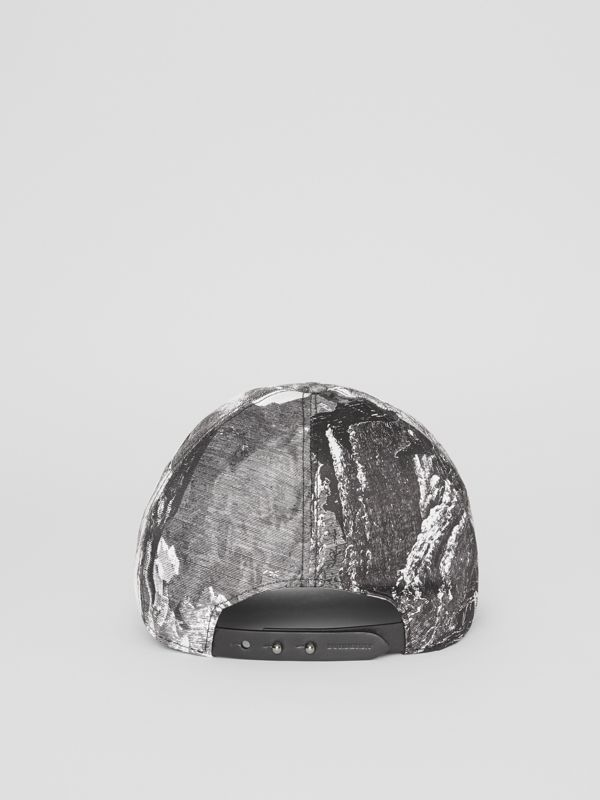 Dreamscape Print Baseball Cap in Black/white | Burberry - cell image 3