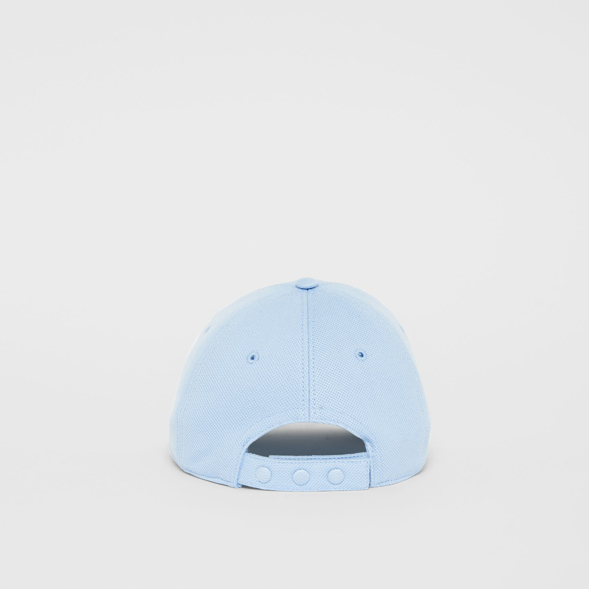 Monogram Motif Baseball Cap in Pale Blue | Burberry - gallery image 5