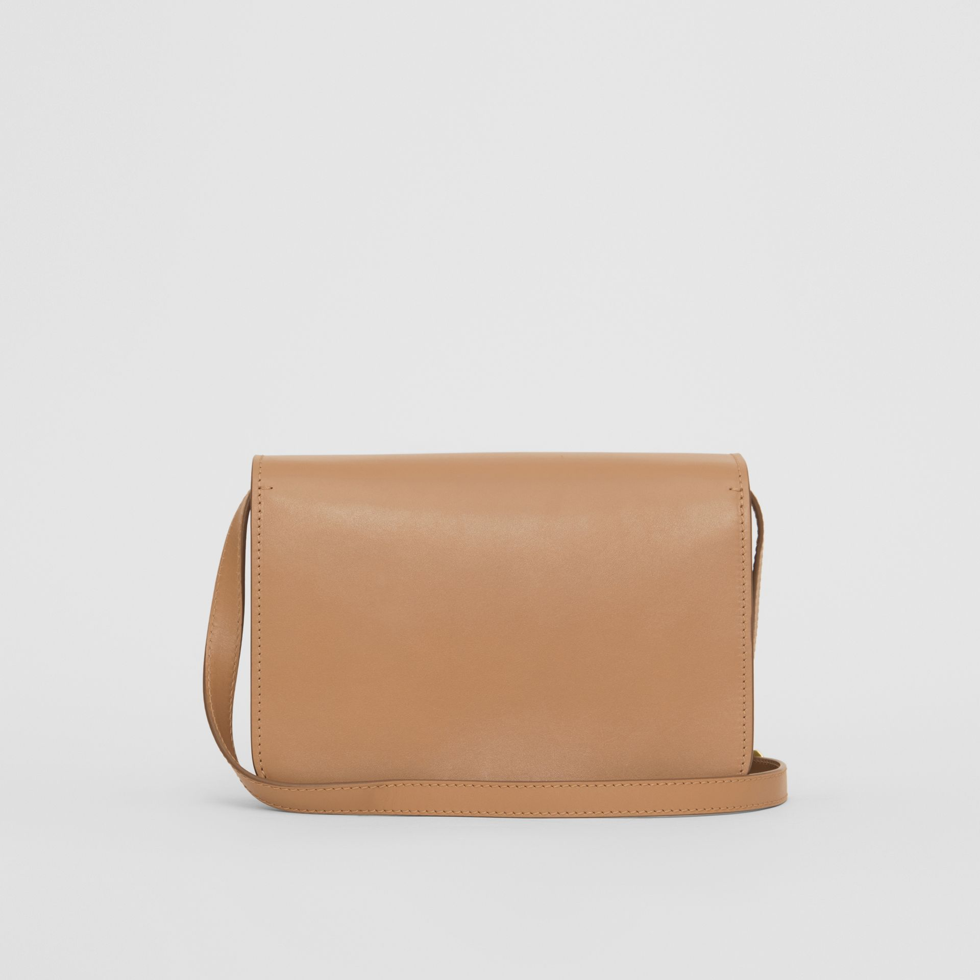 Small Leather TB Bag in Light Camel - Women | Burberry - gallery image 5