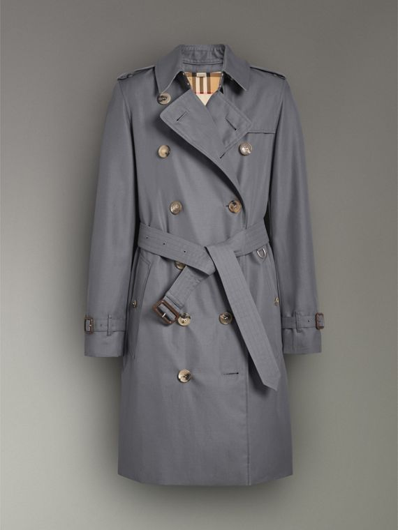 The Kensington – Trench Heritage (Gris Moyen) - Femme | Burberry - cell image 3