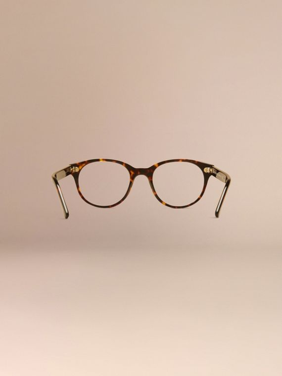 Round Optical Frames Tortoise Shell - cell image 3