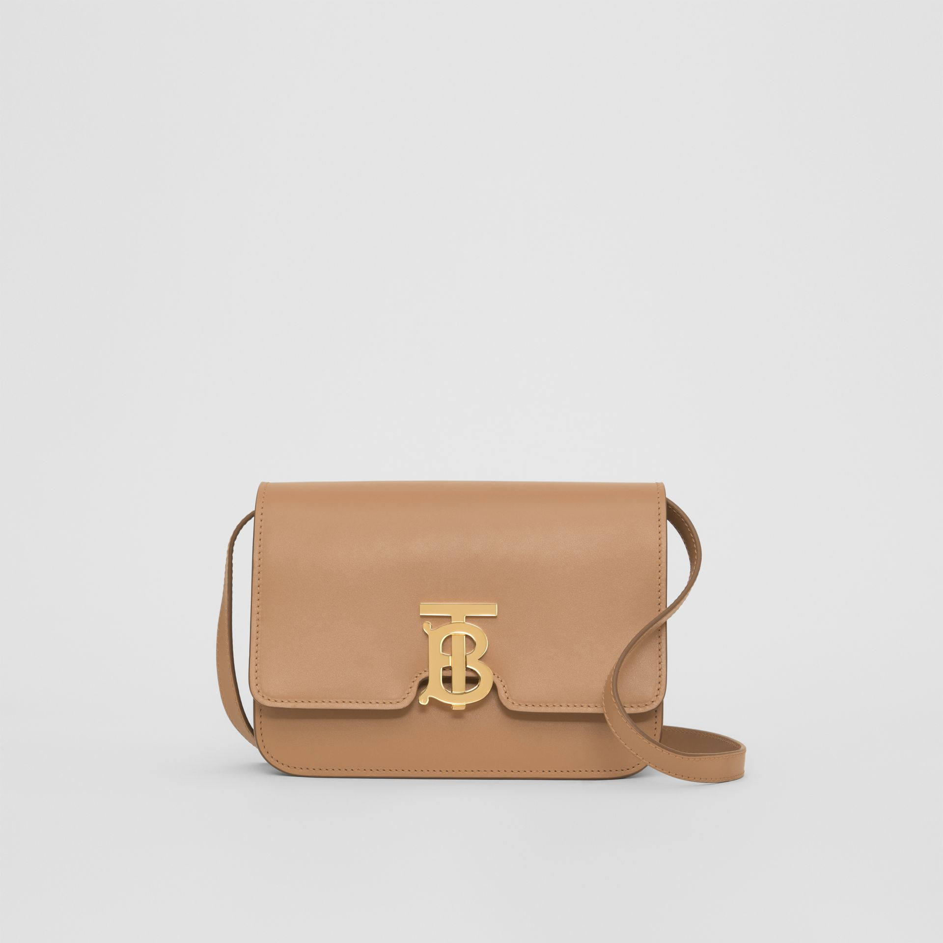 Small Leather TB Bag in Light Camel - Women | Burberry - gallery image 0