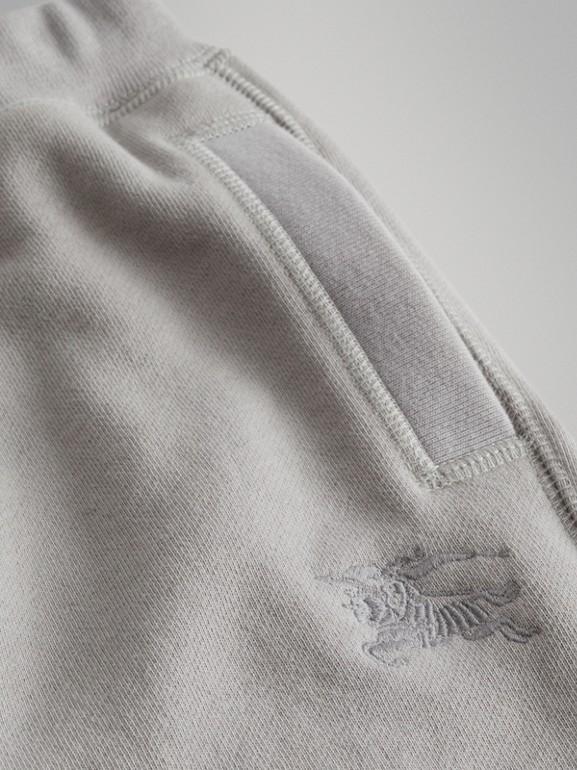 Pantalones deportivos en tejido jersey de algodón (Mezcla  Gris Tiza) | Burberry - cell image 1