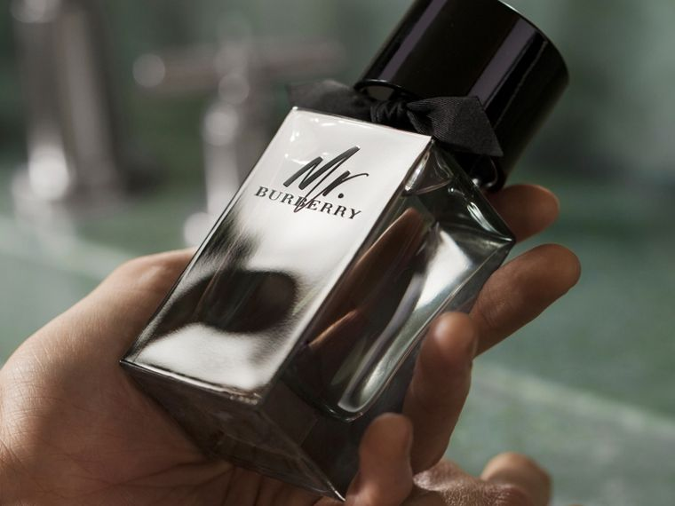 Mr. Burberry Eau de Toilette-Set (Schwarz) | Burberry - cell image 1