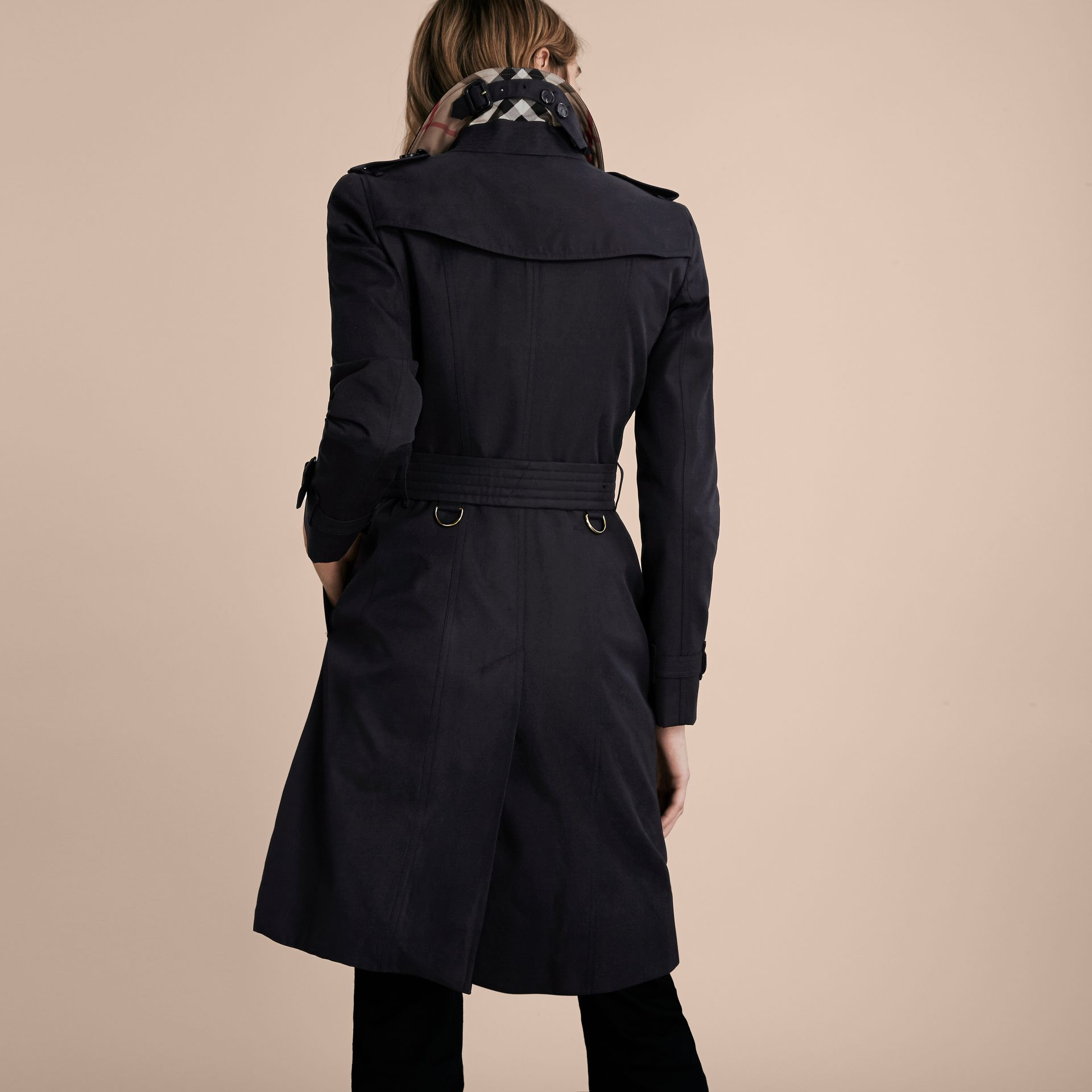 Navy The Chelsea - Trench coat Heritage lungo Navy - immagine della galleria 3