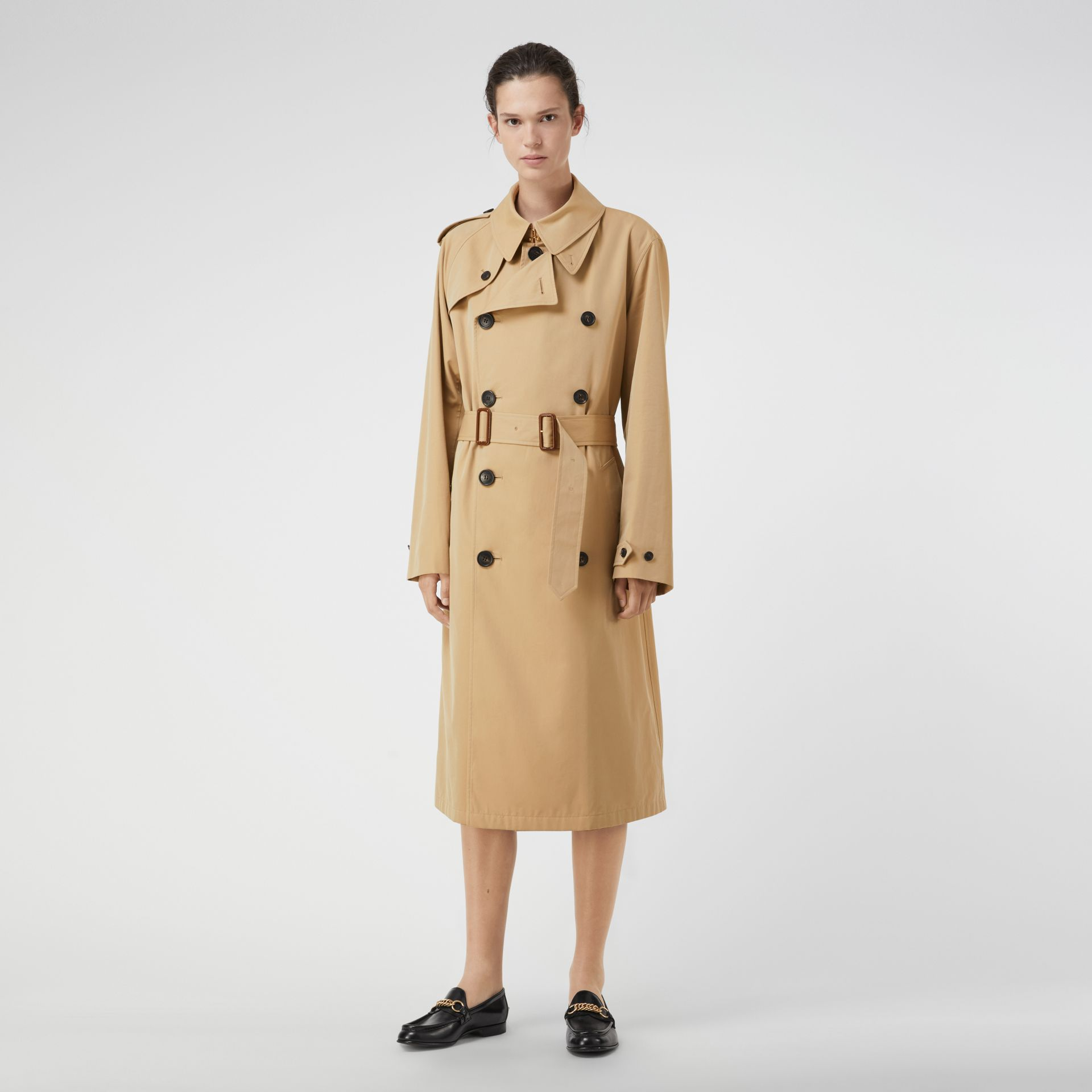 Gosha x Burberry Reconstructed Trench Coat in Honey | Burberry United Kingdom - gallery image 2