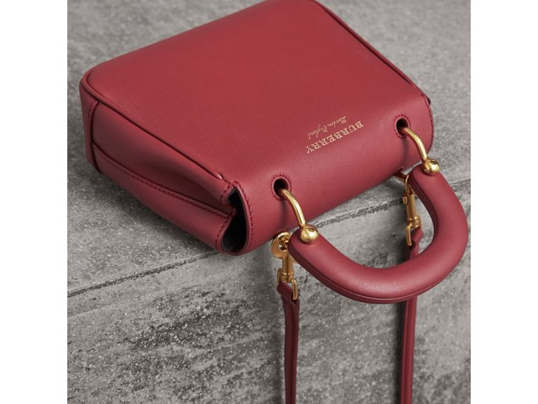 The Small DK88 Top Handle Bag in Antique Red - Women | Burberry United Kingdom - cell image 4