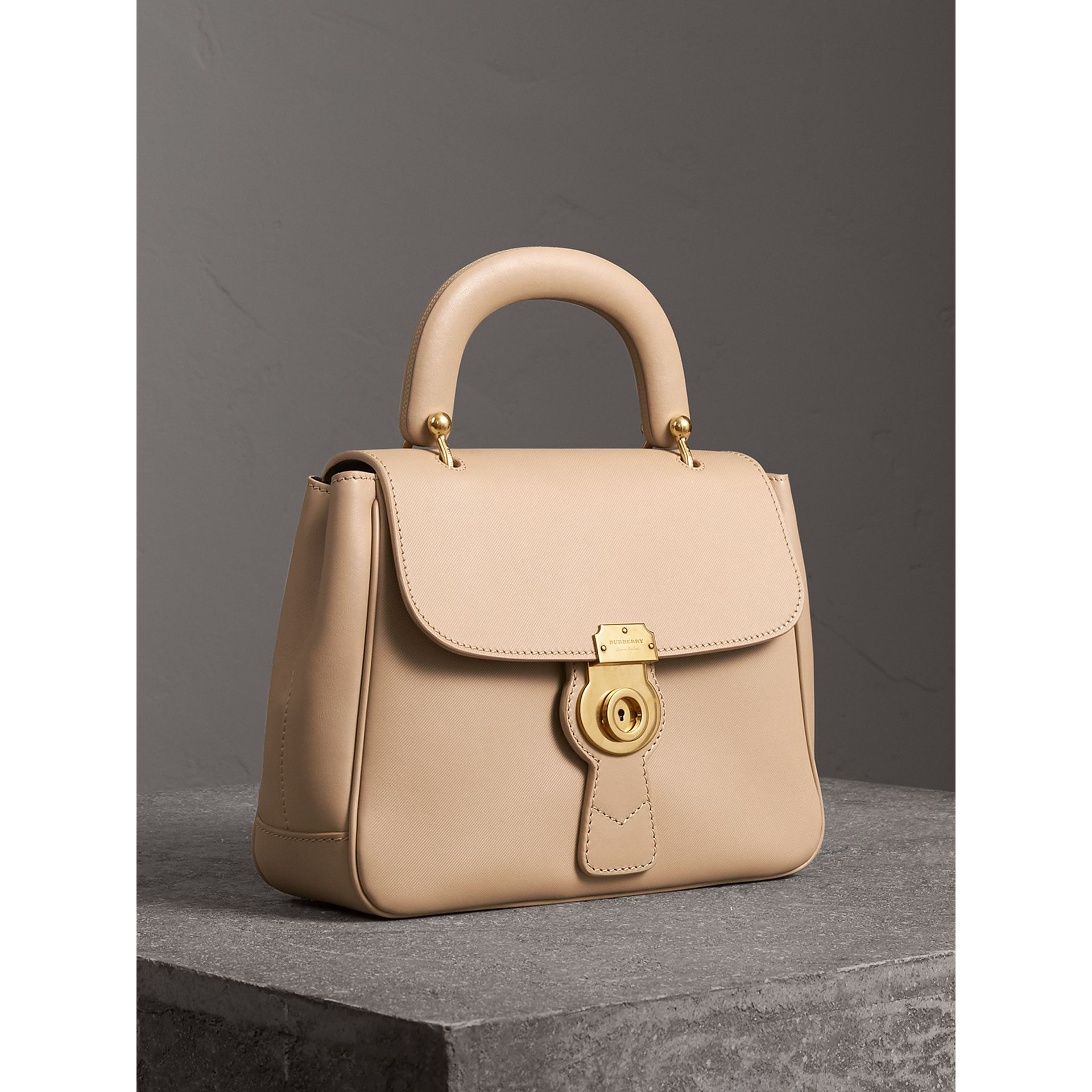 The Medium DK88 Top Handle Bag in Honey - Women | Burberry United States - gallery image 4