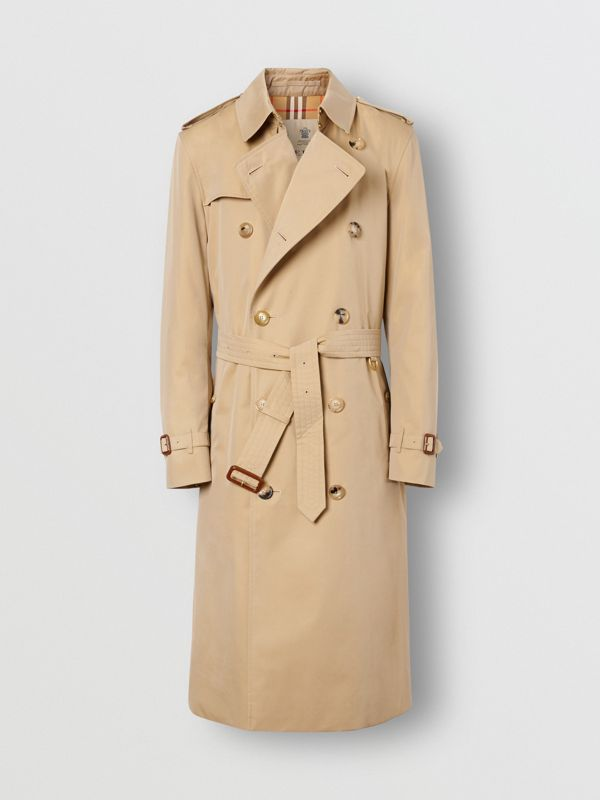 The Long Kensington Heritage Trench Coat in Honey - Men | Burberry United Kingdom - cell image 3