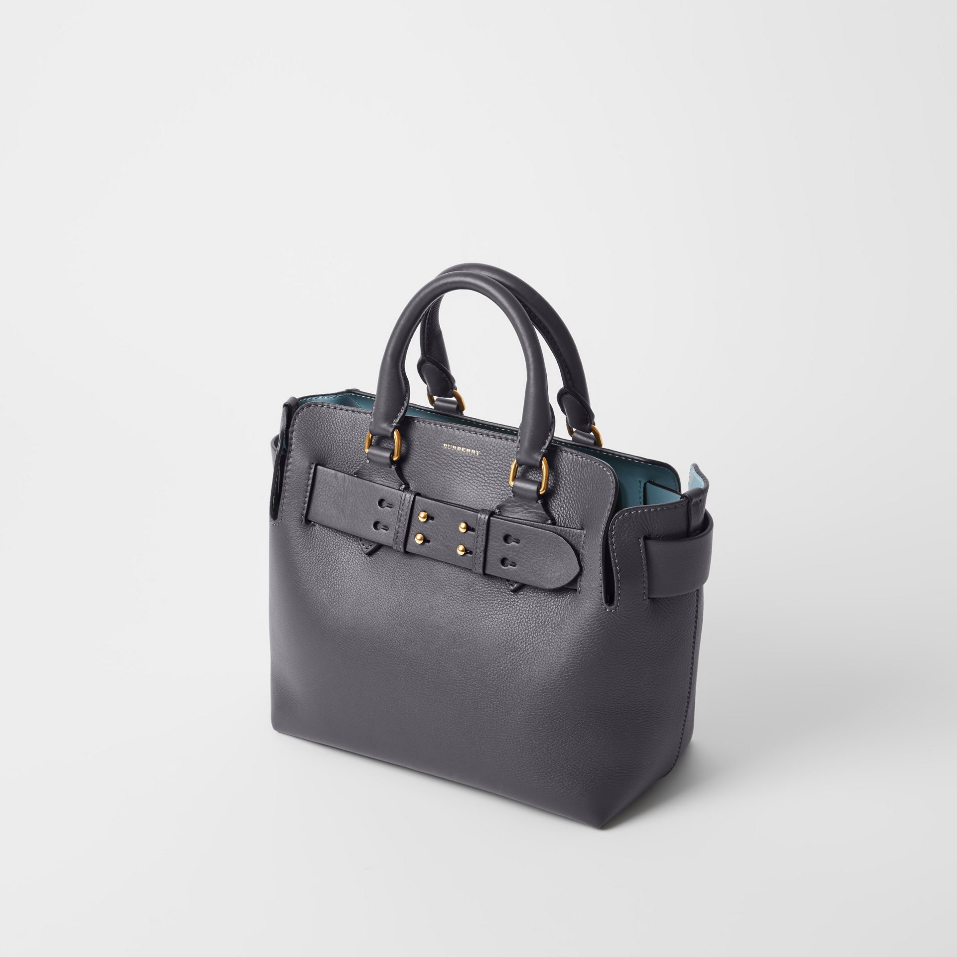 Petit sac The Belt en cuir (Gris Anthracite) - Femme | Burberry - photo de la galerie 3