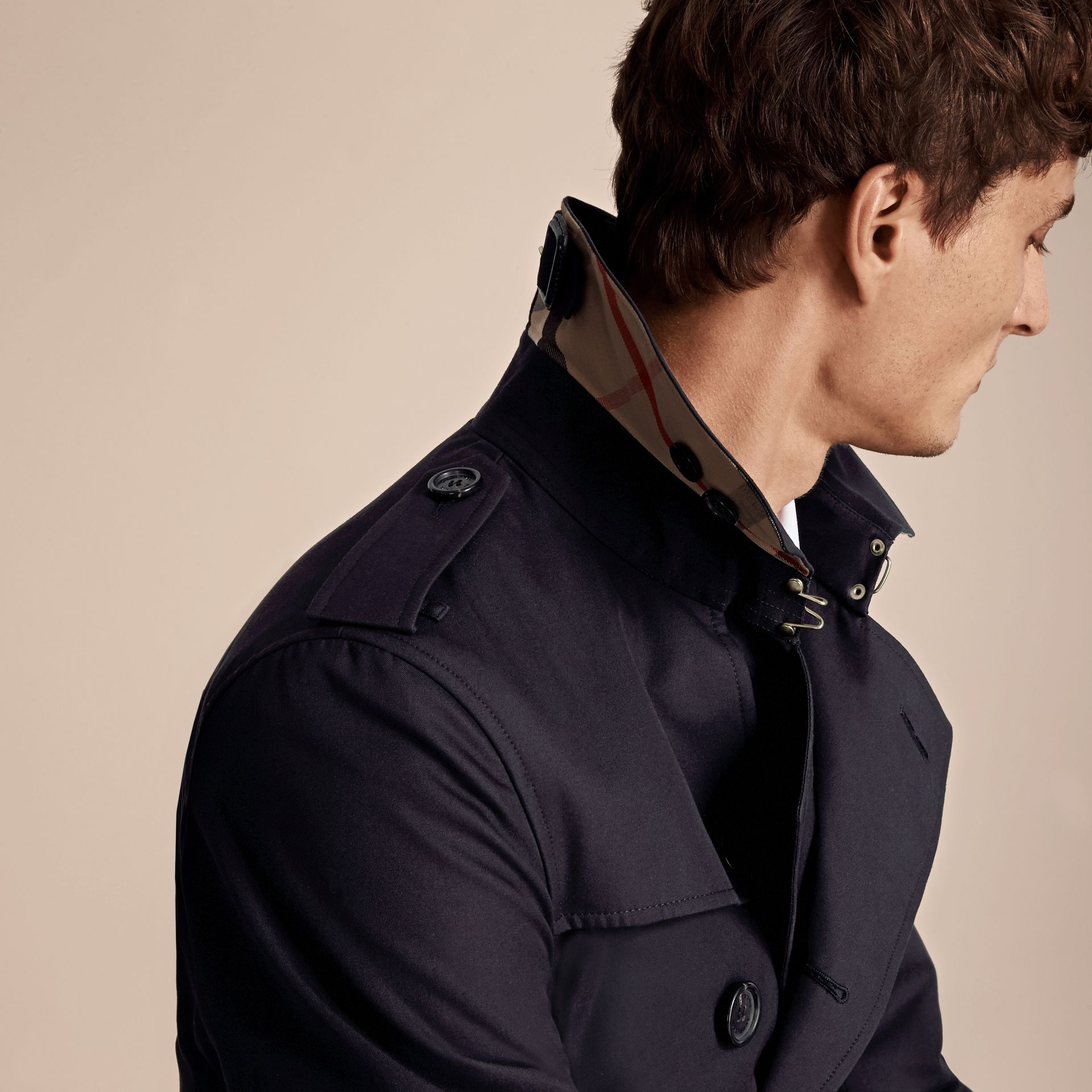 Navy The Chelsea - Trench coat Heritage corto Navy - immagine della galleria 5