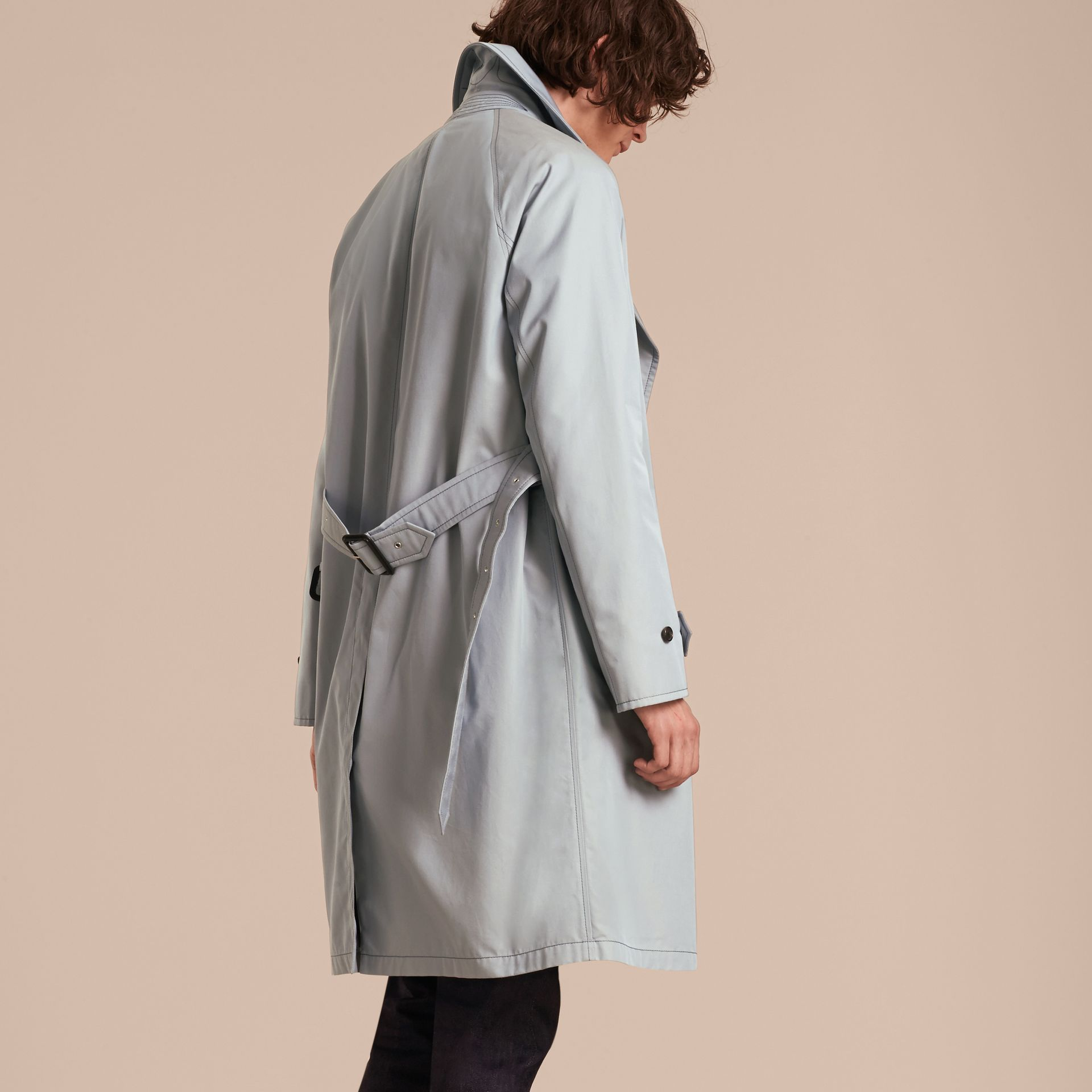 Cotton Trench Coat - gallery image 3
