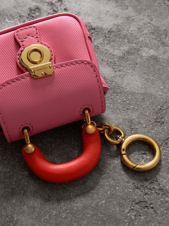 The DK88 Charm in Rose Pink/orange Red | Burberry - cell image 1