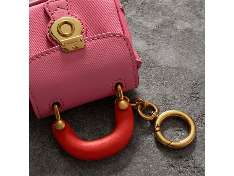 The DK88 Charm in Rose Pink/orange Red | Burberry Hong Kong - cell image 1