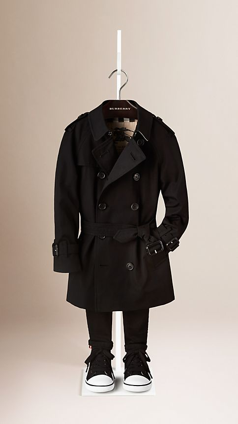 Black The Wiltshire - Heritage Trench Coat - Image 1
