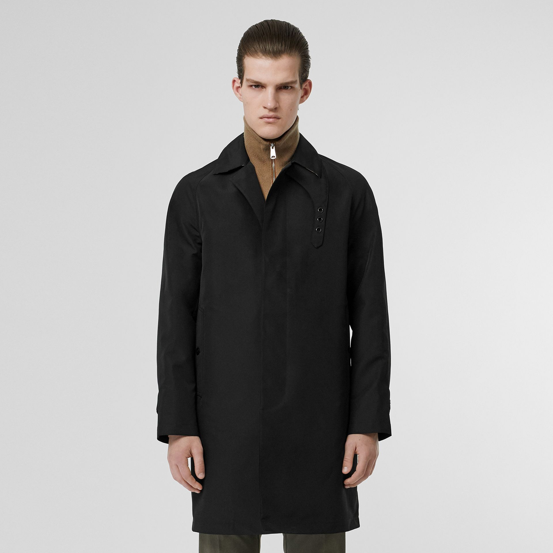 Bonded Car Coat with Warmer in Black - Men | Burberry Australia - gallery image 0