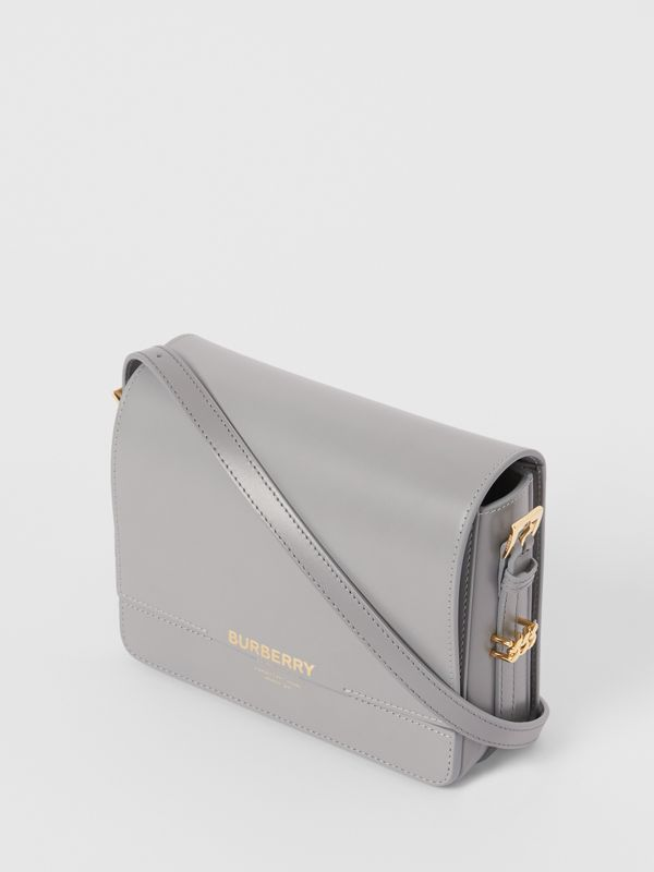 Small Two-tone Leather Grace Bag in Heather Grey/cloud Grey - Women | Burberry United Kingdom - cell image 2