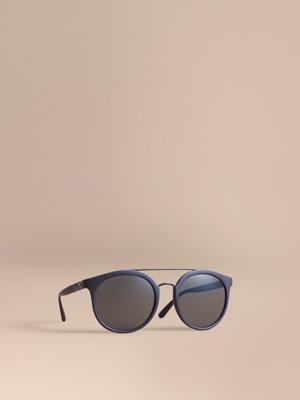 popular glasses styles ujnb  Top Bar Square Frame Sunglasses