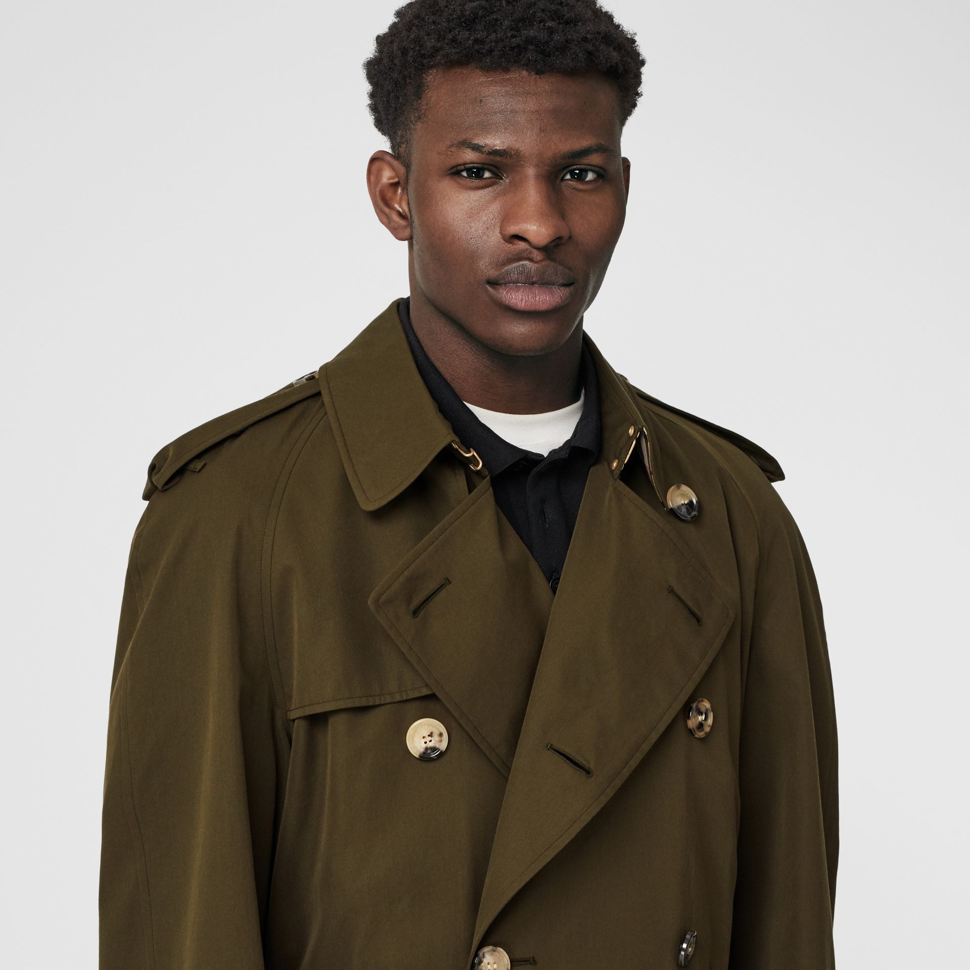 The Westminster Heritage Trench Coat in Dark Military Khaki - Men | Burberry - gallery image 1