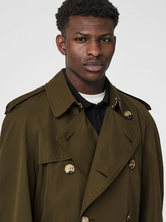 The Westminster - Trench coat Heritage (Cáqui Militar Escuro) - Homens | Burberry - cell image 1