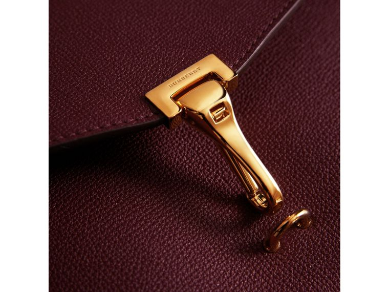 Small Leather Crossbody Bag in Mahogany Red - Women | Burberry Singapore - cell image 1