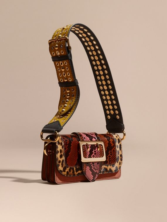 The Patchwork in Snakeskin and Textured Suede - Women   Burberry