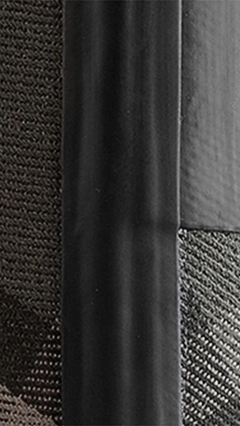 Charcoal Check Panel Rain Boots Charcoal - Image 2
