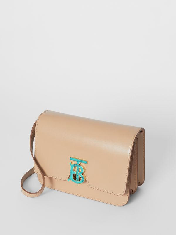 Small Leather TB Bag in Honey - Women | Burberry Australia - cell image 3