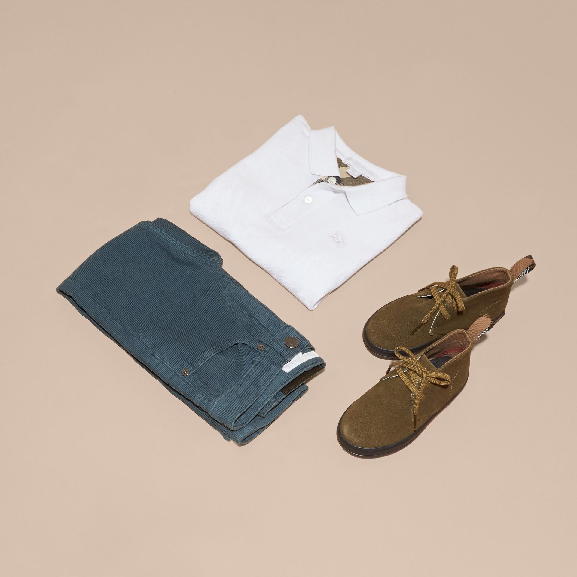 Blu minerale Jeans in corduroy stretch Blu Minerale - immagine della galleria 5