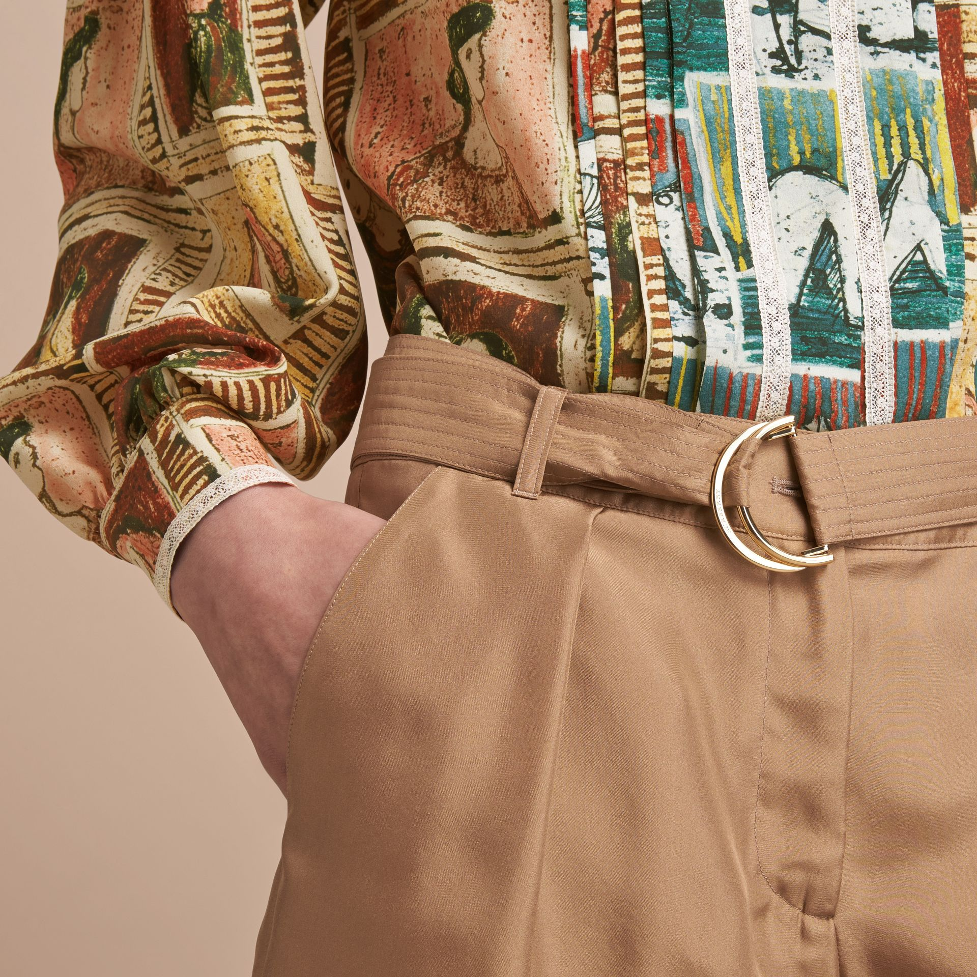 Tailored Silk Shorts - gallery image 5