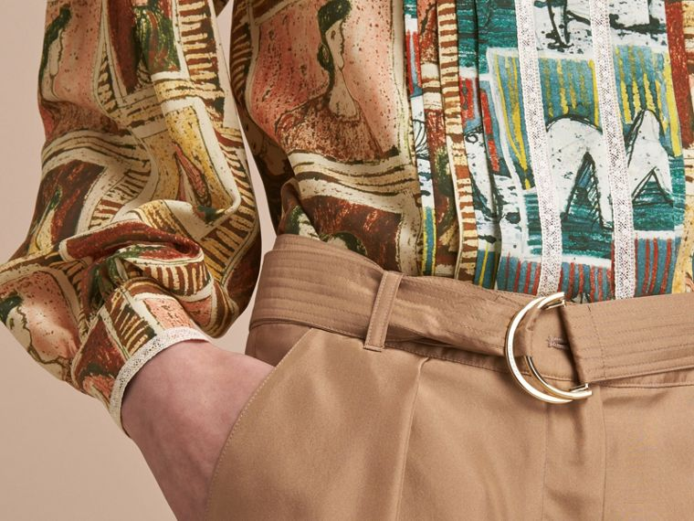 Tailored Silk Shorts - cell image 4