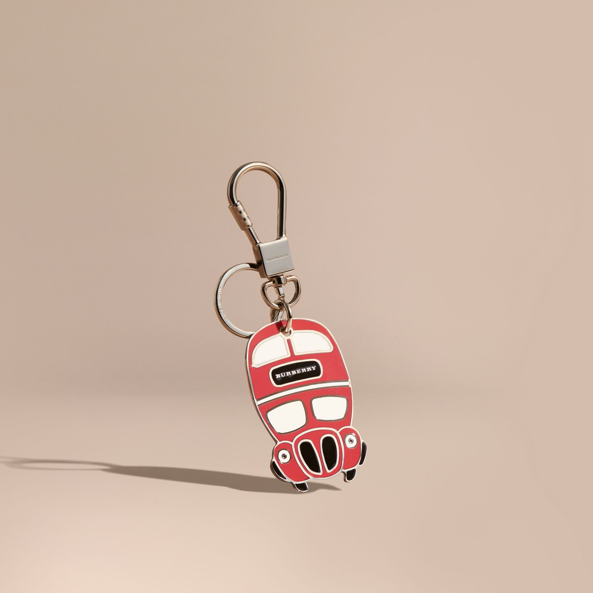 Double-decker Bus Key Charm - gallery image 1