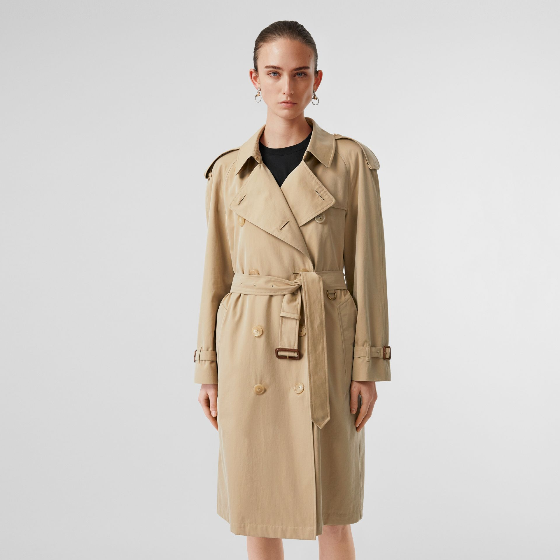 The Westminster Heritage Trench Coat in Honey - Women | Burberry - gallery image 7