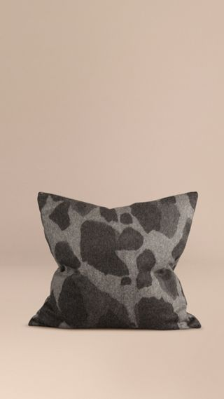 Animal Jacquard Cashmere Cushion Cover