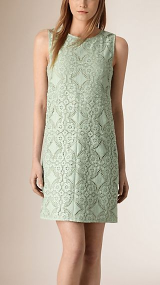 English Lace Shift Dress