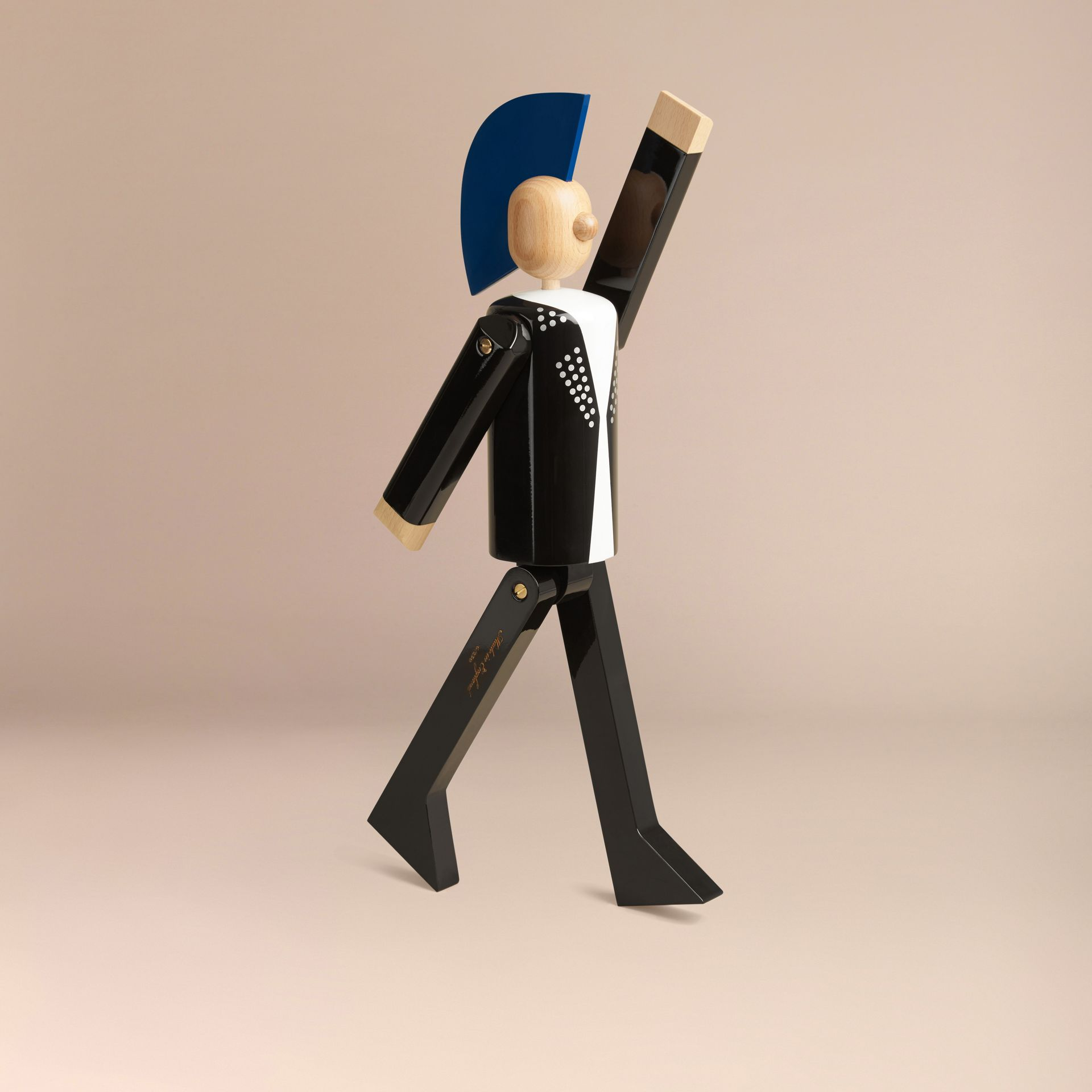Multicolour The Punk Limited Edition Wooden Puppet - gallery image 6