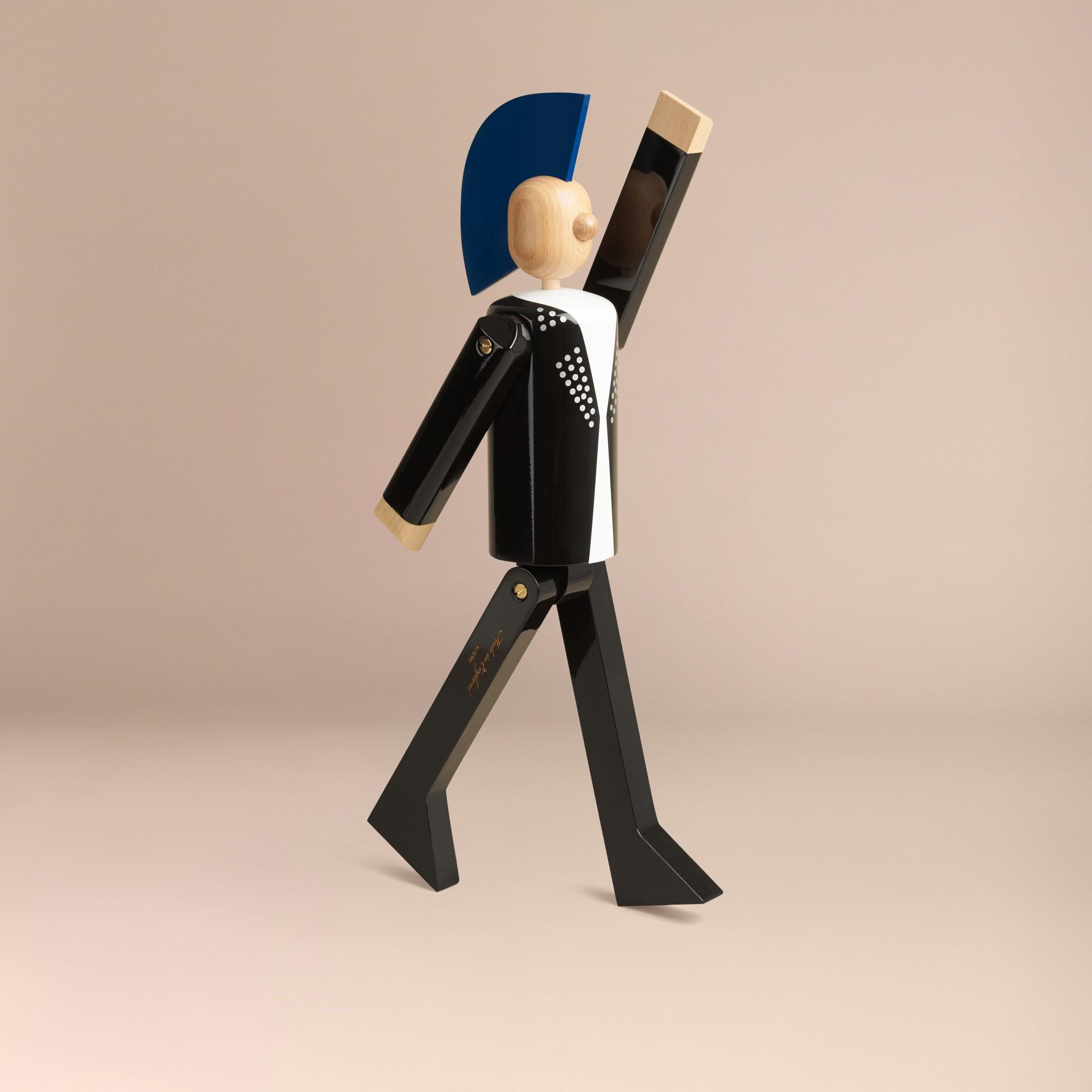 Multicolore Marionnette en bois à l'effigie du Punk en édition limitée - photo de la galerie 6