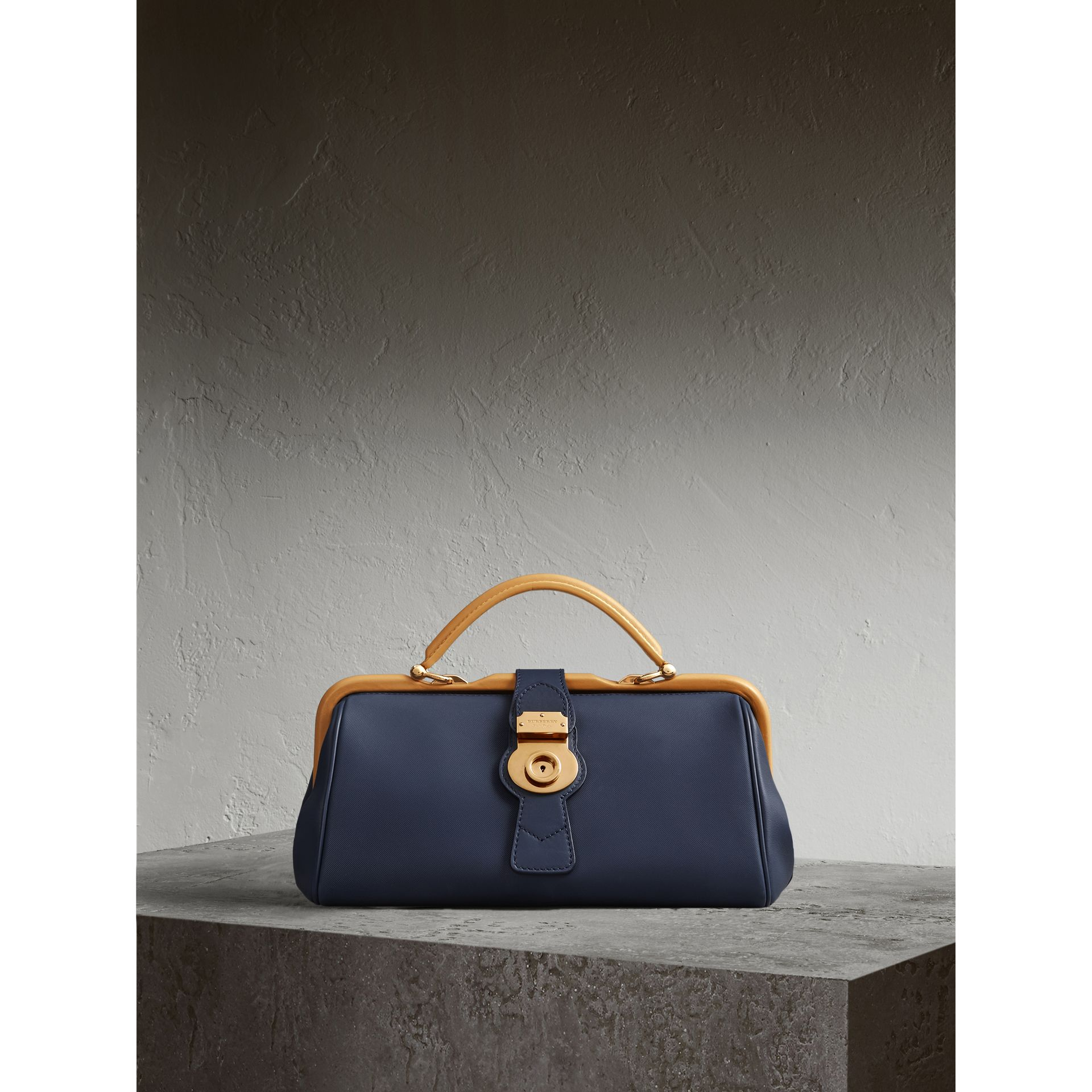 The DK88 Bowling Bag in Ink Blue - Women | Burberry - gallery image 1