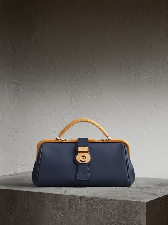 The DK88 Bowling Bag in Ink Blue - Women | Burberry