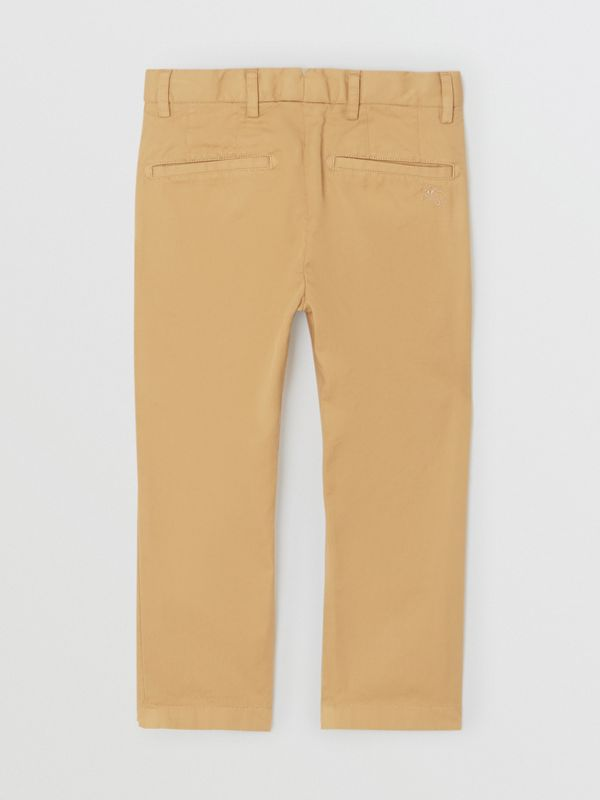 Cotton Chinos in Taupe | Burberry - cell image 3