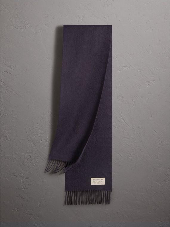 The Mini Classic Cashmere Scarf in Navy