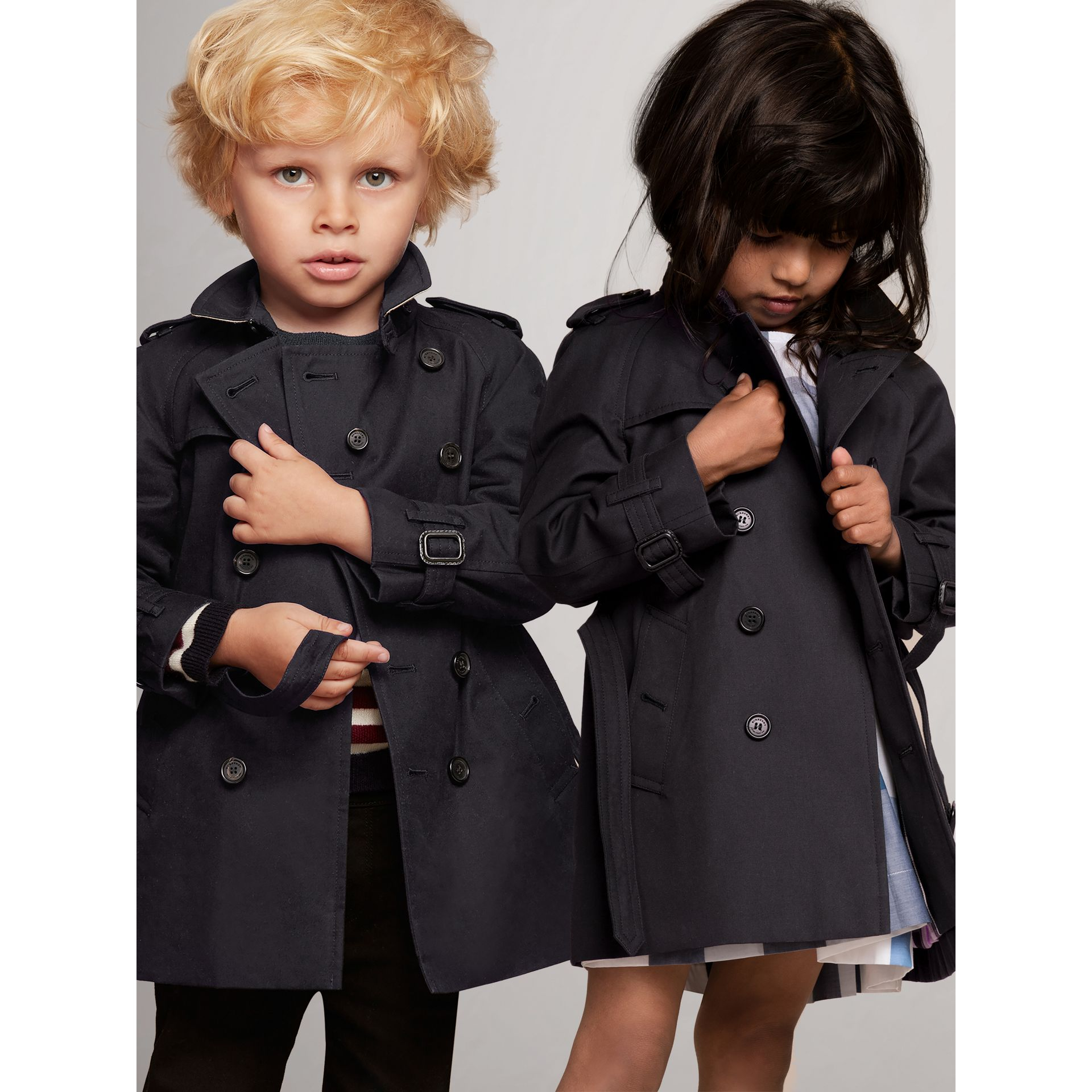 The Wiltshire Trench Coat in Navy | Burberry United States - gallery image 0