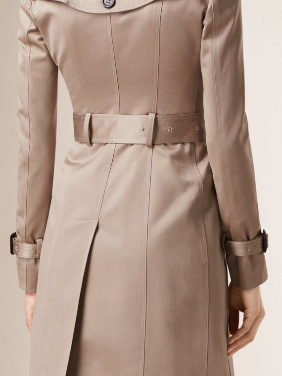 Trench Cotton Sateen Trench Coat  - cell image 2