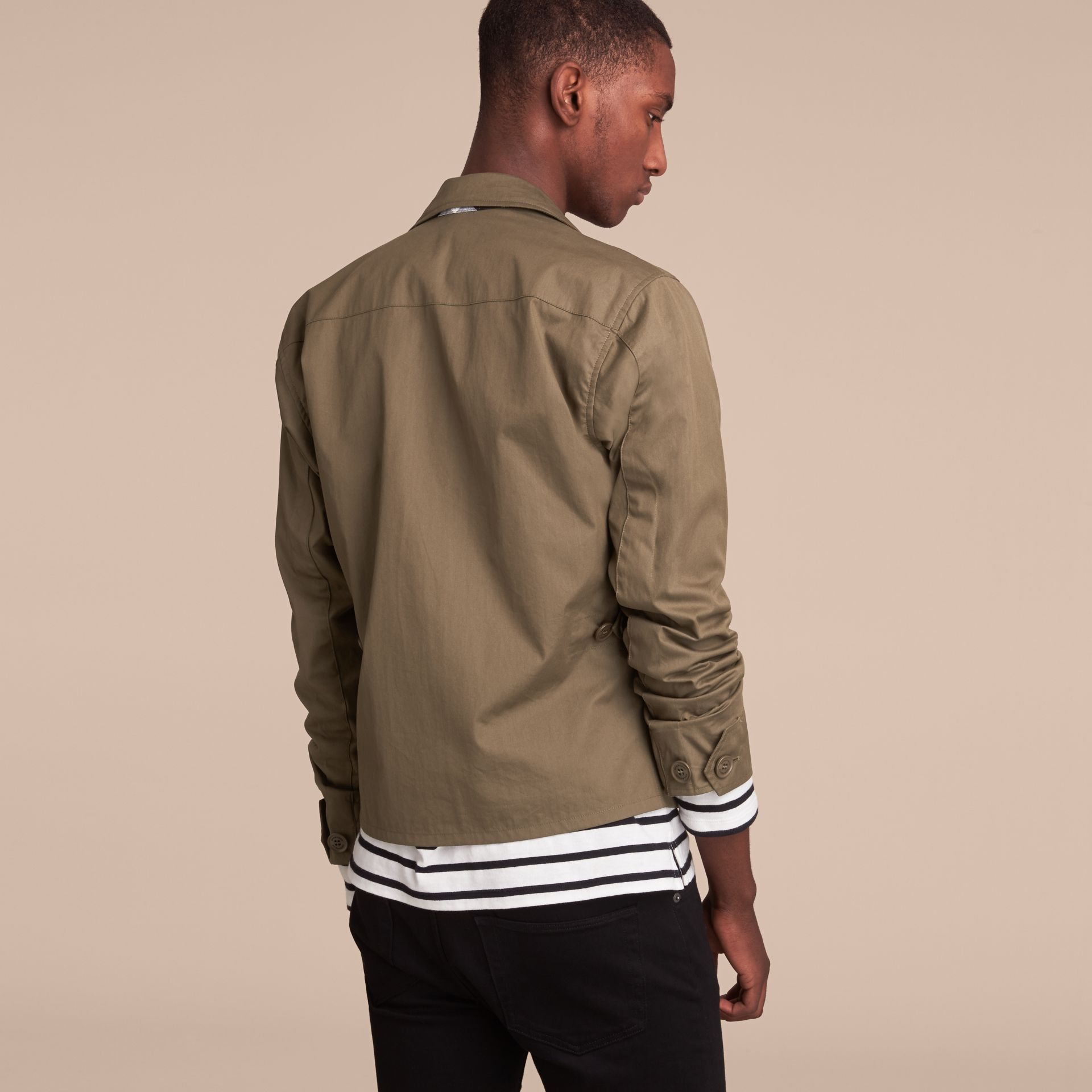 Technical Cotton Canvas Field Jacket - gallery image 3
