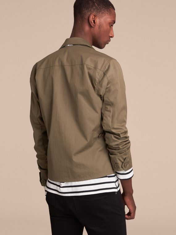 Technical Cotton Canvas Field Jacket - cell image 2
