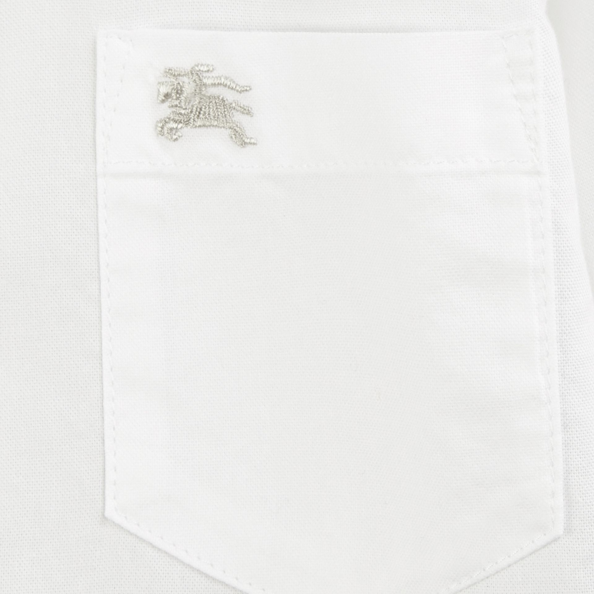 Classic Oxford Shirt in White - gallery image 2