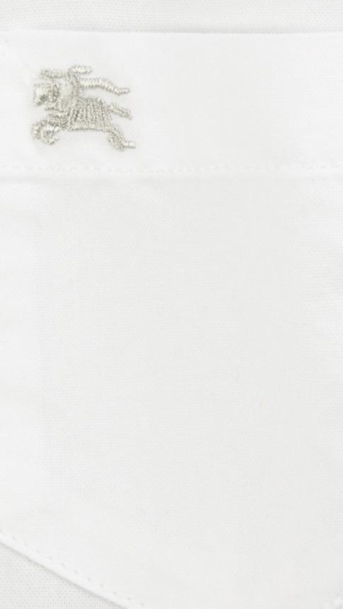 Blanc Chemise Oxford classique Blanc - Image 2