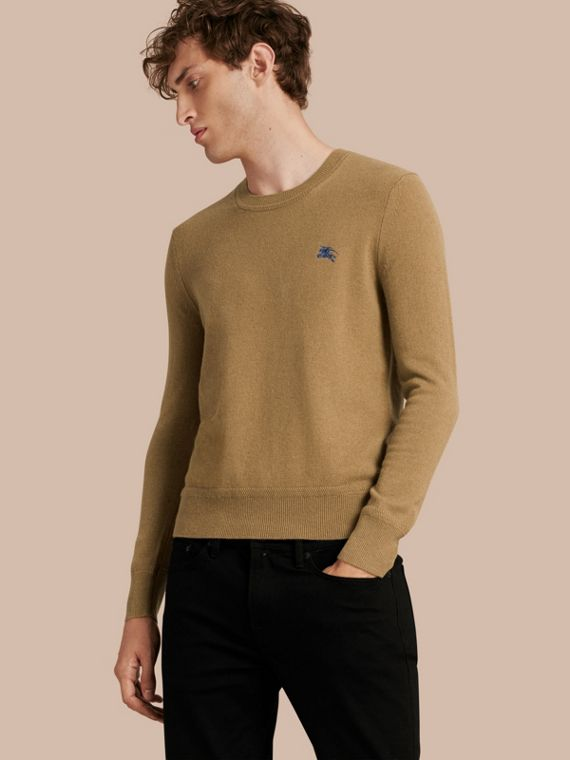 Heritage Detail Cashmere Sweater