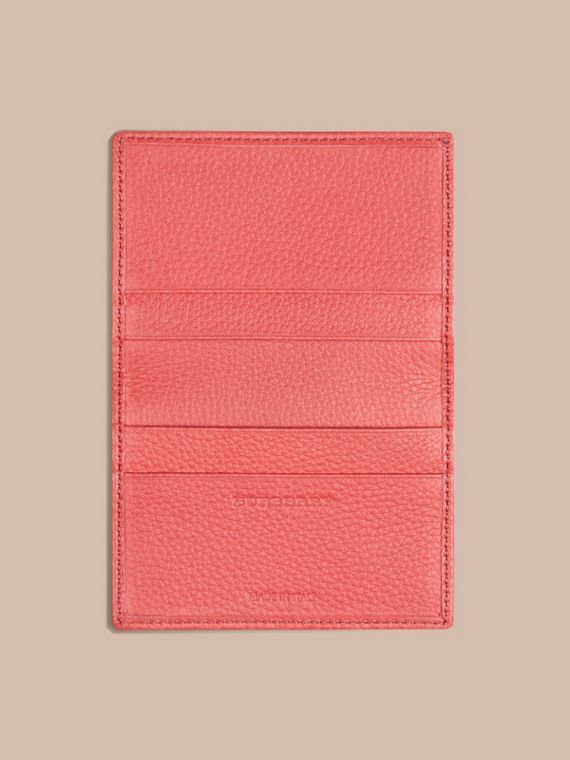 Bright peony Grainy Leather Card Case Bright Peony - cell image 3